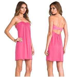 Alice + Olivia Jazz Strapless Dress